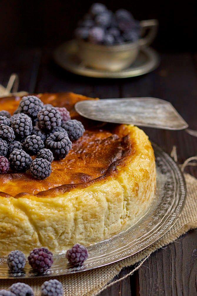 Yerbabuena en la cocina: Tarta de queso de la Viña