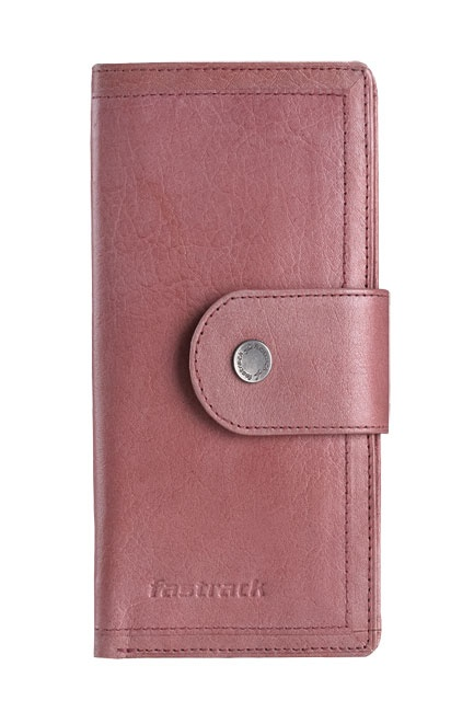 Leather Bi-fold long wallet with metal rivet detail and flap-over closure. Wallets from Fastrack http://www.fastrack.in/product/c0324lpk01/?filter=yes=india=9=4&_=1334231927426