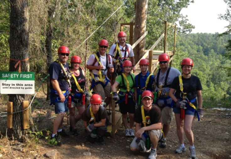 The Zip Lines at Ouachita Bend