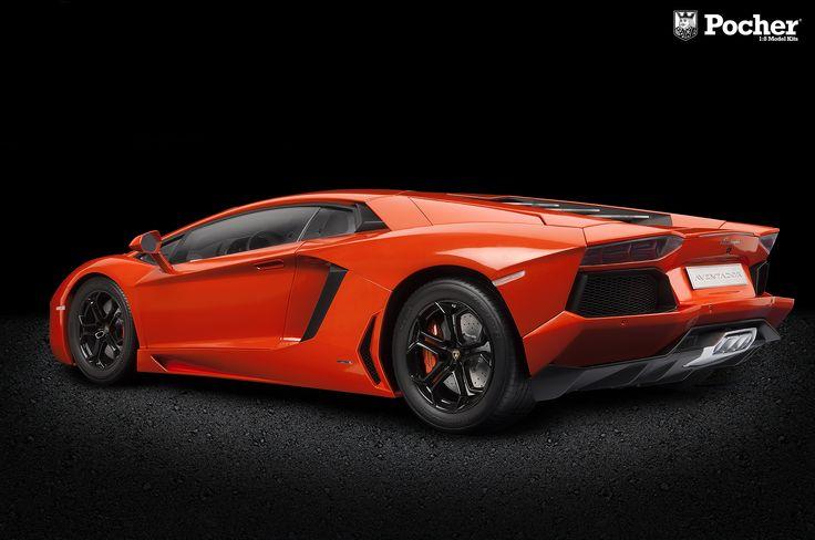 Lamborghini Aventador - HK100 http://www.hornby.it/modellismo/naviga-per-marchio/pocher/pocher-hk100.html