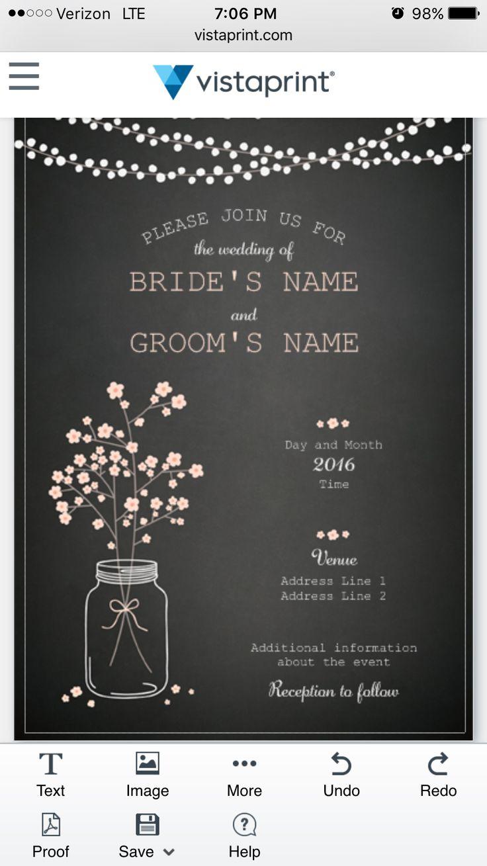 Best 25 vista print ideas on pinterest engagement signs love the invitation karol wants from vista print wedding monicamarmolfo Gallery