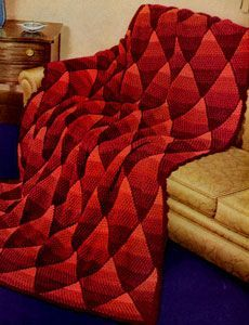 Shaded Diamond Afghan | Free Crochet Patterns
