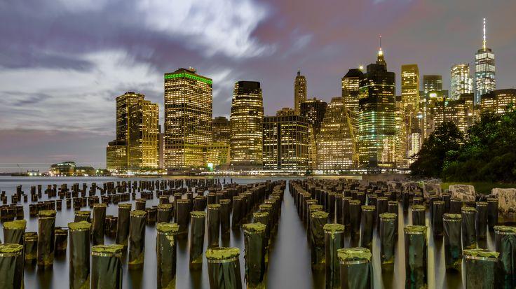 Manhattan Skyline from Brooklyn Bridge Park Photo in Album Stream Photos - Photographer: rakeshkarda