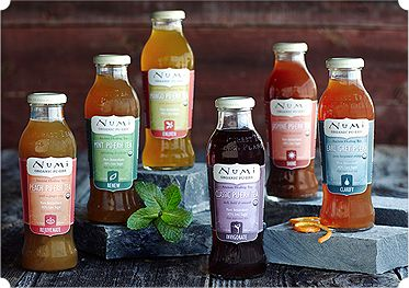 Numi Organic Iced Tea has 40% less sugar than most iced teas making it functional and delicious