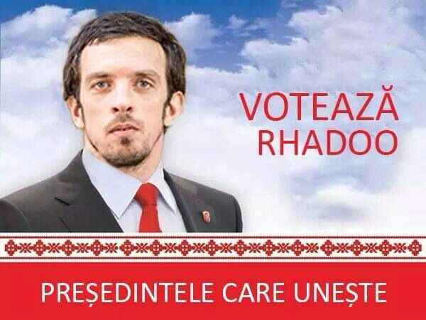 The day of the vote in Bucharest...I say Vote Rhadoo!!