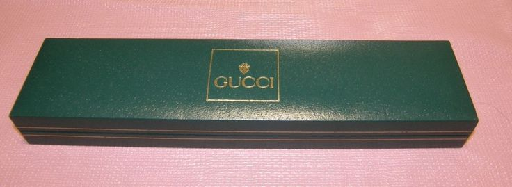 GUCCI WATCH BOX CASE ONLY GREEN LONG  20$