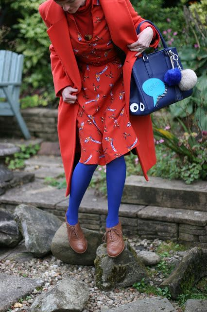 Fake Fabulous: How to wear summer clothes in Autumn | Beginner's guide to coloured tights.