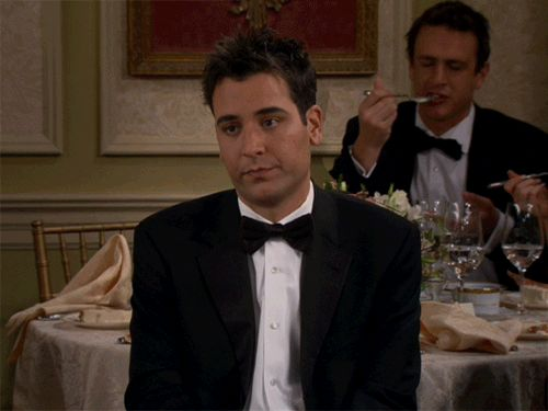 Ignore Ted, and just look at Marshall having a cakegasm in the...