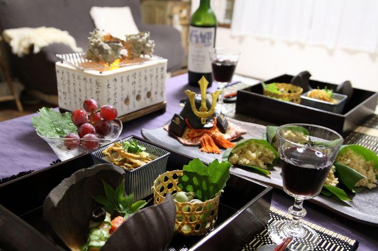 端午の節句のテーブル : ゆとりすと ~心のゆとりを大切に暮らせたら・・