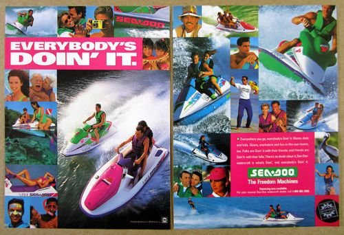 1993 Sea-Doo PWC Personal Watercraft photo jet ski print Ad