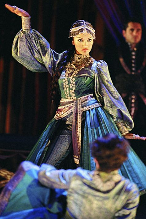 Danielle de Niese as Cleopatra in Giulio Cesare - she had her Glyndebourne debut in the role in 2005.
