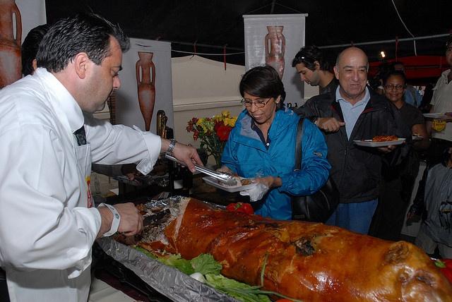 Muestra Gastronómica Villa de Santiago