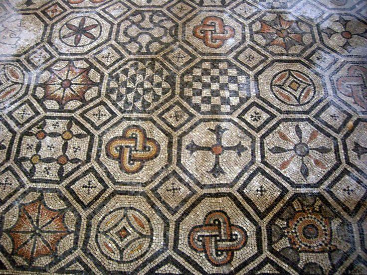 pavimento -Basilica Aquileia- Friuli Venezia Giulia