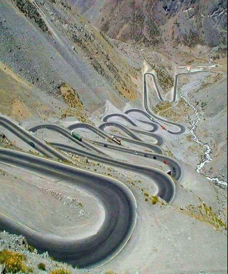 Amazing Road - Hakkari, Turkey
