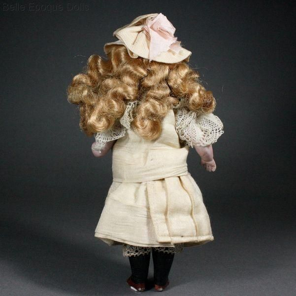 German All-Bisque Mignonette by Simon & Halbig from belle-epoque-dolls on Ruby Lane