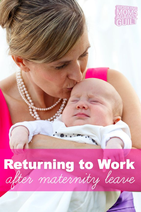 Expecting and new moms, this is a must read: Tips from a new mom who recently went back to work.