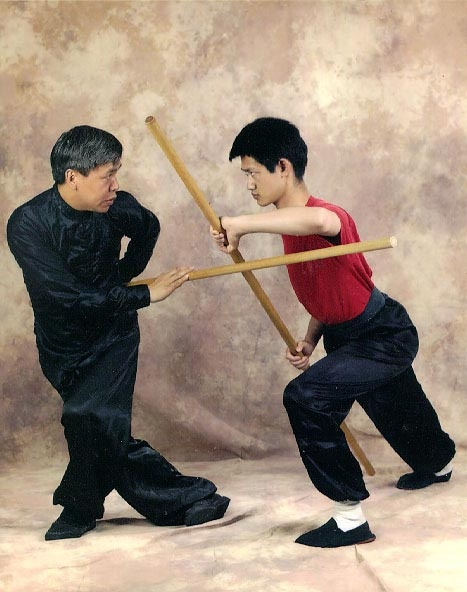 Kung Fu / Tai Chi Master Yon Lee,   Staff Form, Boston MA