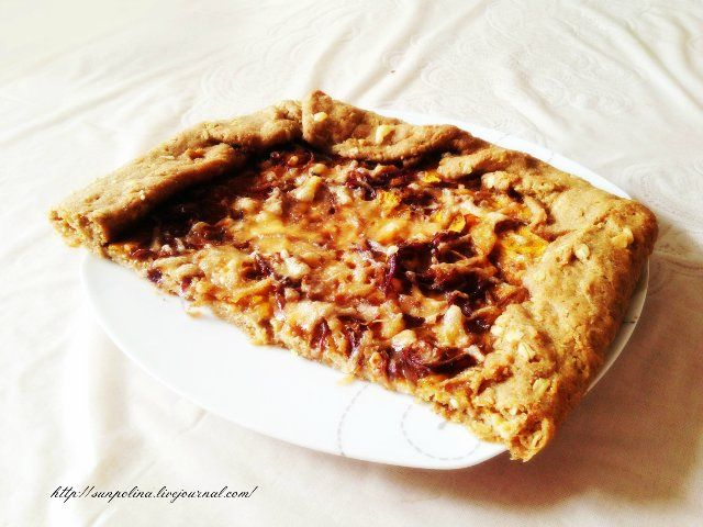 Тыквенная галета- пицца - Солнечная