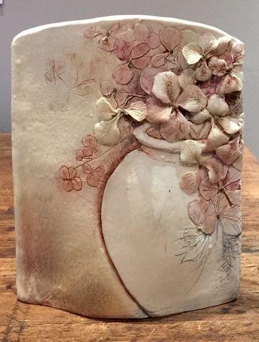 Hydrangeas Vase – Purple Gallery
