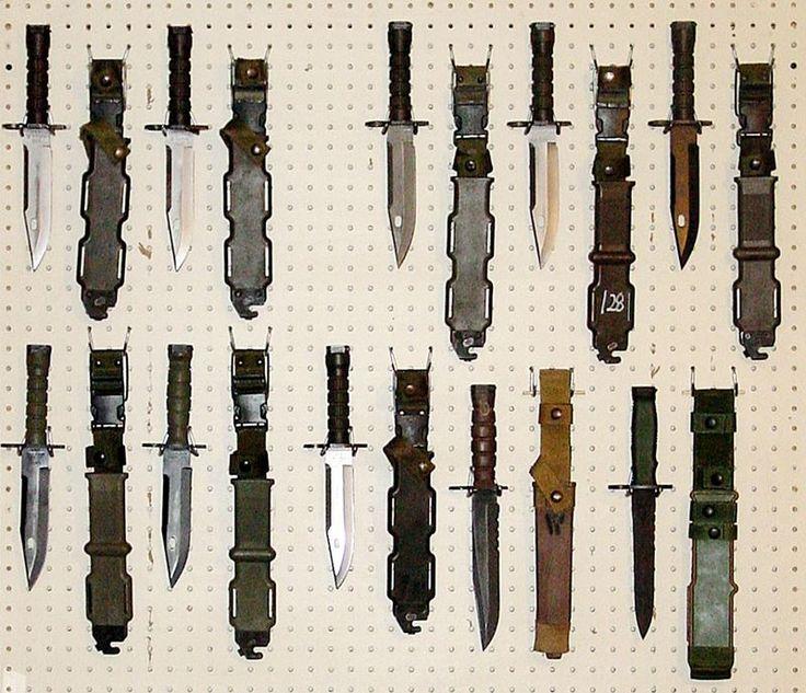 wall knife display - Google Search