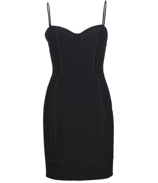 ALEXANDER WANG fitted spaghetti strap dress  #Matchesfashion