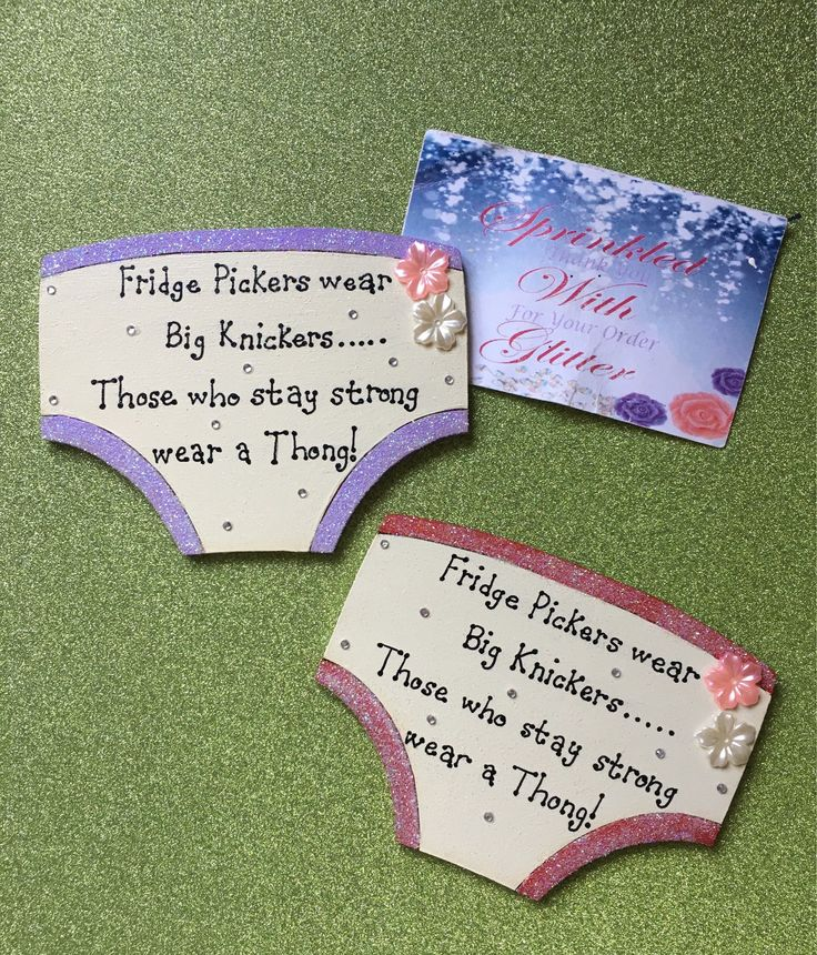 Excited to share the latest addition to my #etsy shop: Fridge pickers wear big knickers quote, wooden pants plaque as a magnet