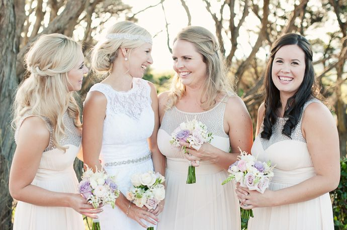 beautiful bridesmaid outfits - Waiheke New Zealand