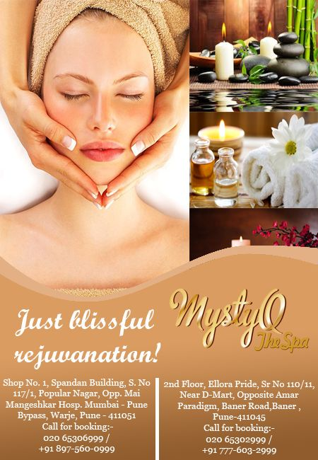 The greatest gift you can give someone is your time, love and a spa-day!! Present your loved one with MystyQ Spa Gift Vouchers for a perfect relaxation day with us.  Hurry up call Now 7776032999. Like and share this post. #Spainpune #Bestspa #spainbaner #spainwarje #spa #bestspaservice #facialspa #couplespa #women #ladies  https://www.facebook.com/mystyqspa/ http://www.mystyqspa.in