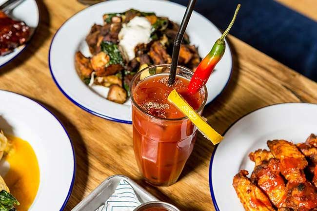 Bar and Block is designed to appeal to steak enthusiasts.It offers its bottomless prosecco deal alongside both traditional brunch dishes. It is located at N1 9AA.