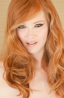 Love the hair color...Dominique Sharpe  Gloria Williams via J J onto RedHeads Rule