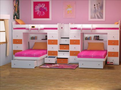 Bunk Bed Space Saver 8 best bunk beds for 3 or more - great space solution. images on