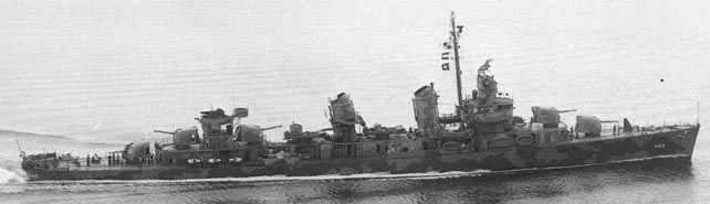 USS Fletcher Class Destroyers.