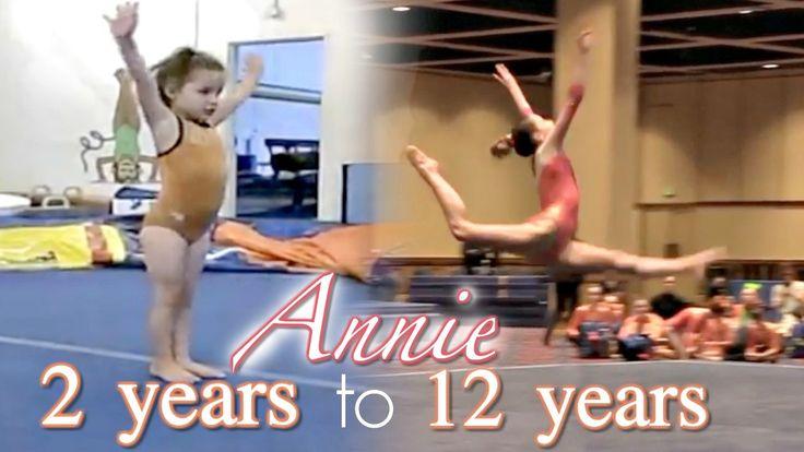 Annie's Gymnastics Through the Years