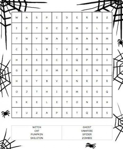 Best 25 halloween word search ideas on pinterest for Halloween word search coloring pages