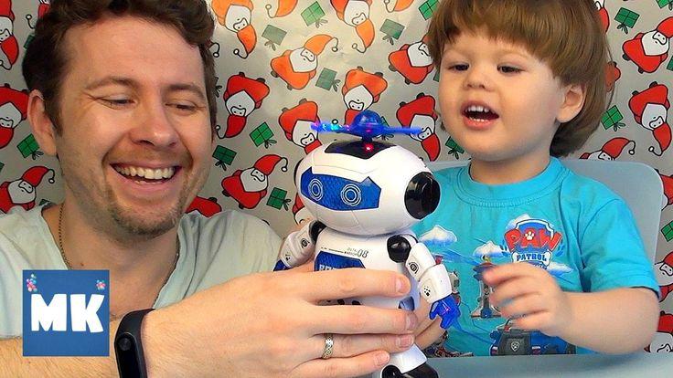 ТАНЦУЮЩИЙ РОБОТ ИГРУШКА ✪ dancing robot toy ツ MaxiKids