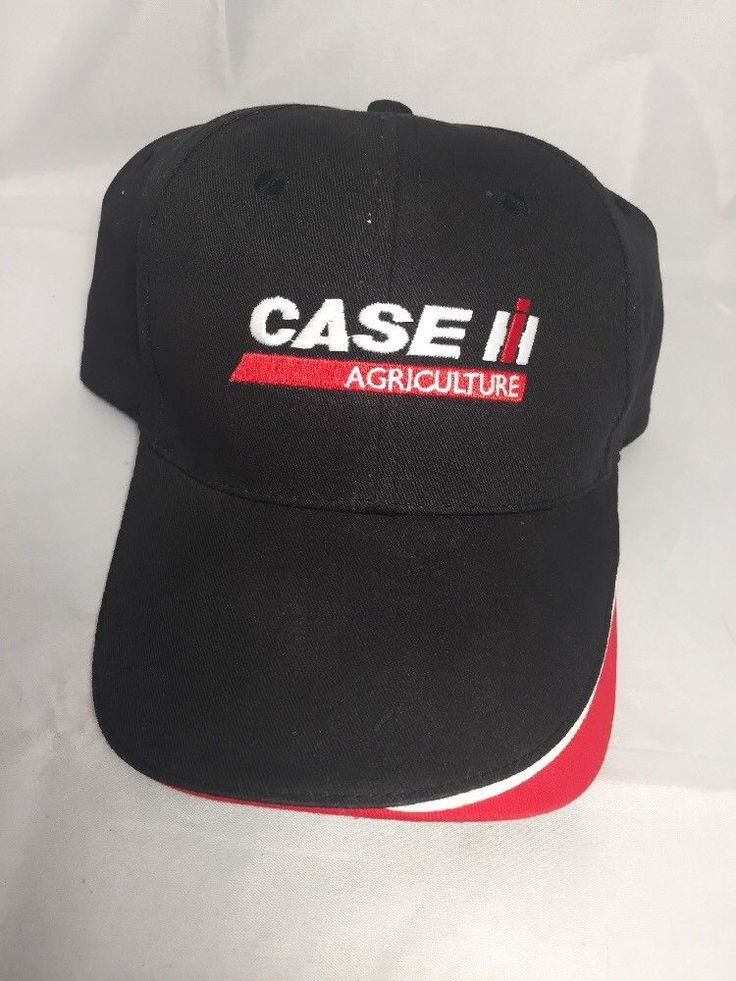 Case IH Agriculture Adjustable Hat, Farming, Construction, Work FREE SHIPPING #CaseIH