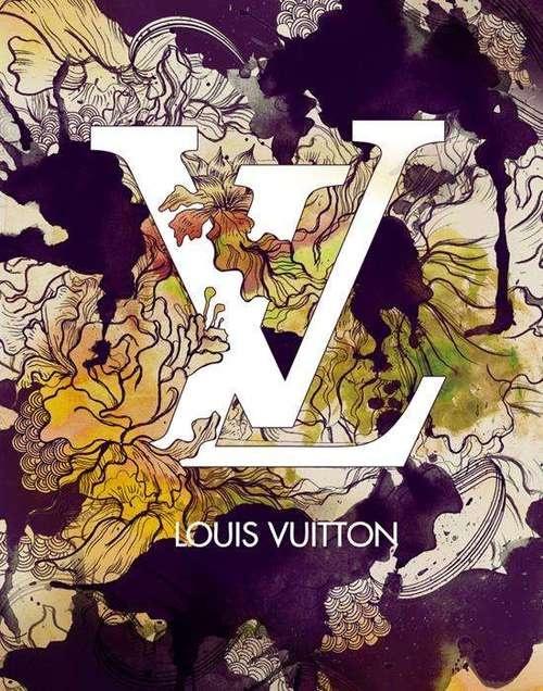 Louis Vuitton Flowering Artwork
