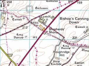 Shepherds' Shore to Milk Hill