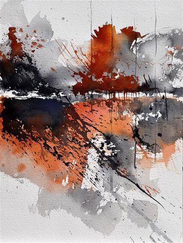 """""""watercolor 217031"""" - Original Fine Art for Sale - © Pol Ledent"""