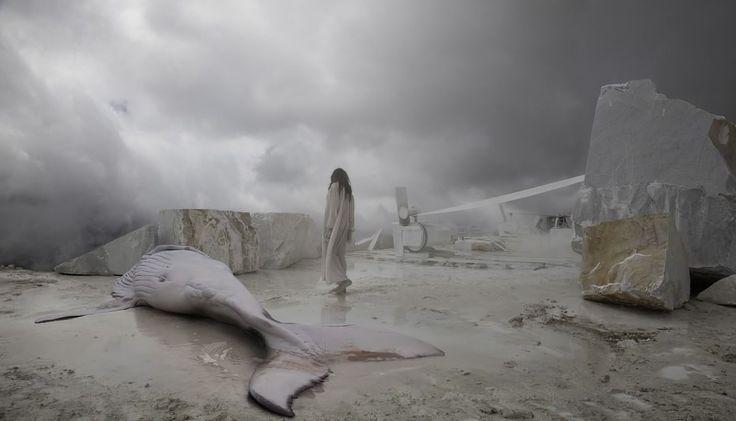 Più veloci di aquile i miei sogni attraversano il mare, — Franco Battiato.  #Buongiorno dal #MACRO -Museo d'#artecontemporanea di #Roma. [Nella foto #PietraSanta di #MatteoBasilé] #MACROroma #goodmorning https://www.instagram.com/p/BF3Mcx1QPOL/