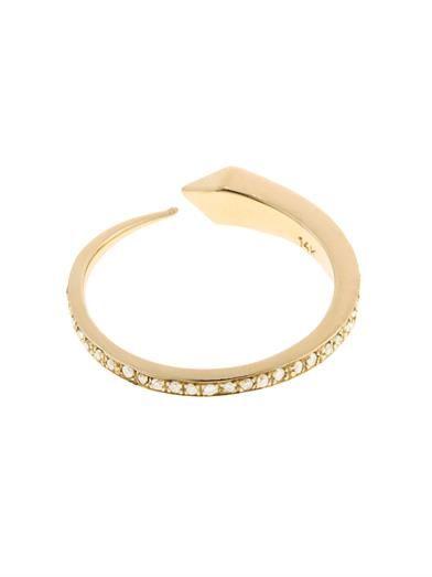 Comet diamond & yellow-gold ring | Tilda Biehn | MATCHESFASHIO...