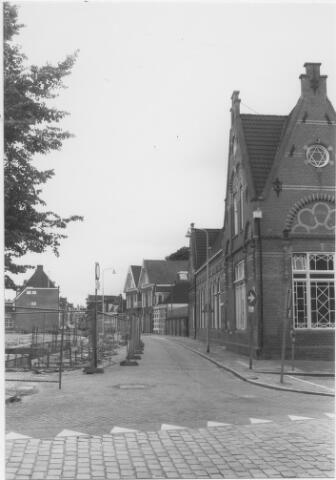 Westerbinnensingel Groningen, mijn eerste kleuterschool rechts op de foto