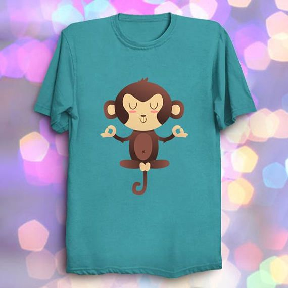 ChimpanZEN  Cute Animal Puns Kawaii T Shirt #cute #funny #puns #kawaii #adorable #monkey #zen #meditation #relax #mind #peace #tshirts #chimpanzee #animals #art #geek