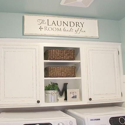 8 best laundry room images on pinterest home ideas my house and a complete diy laundry room transformation for only 100 solutioingenieria Choice Image
