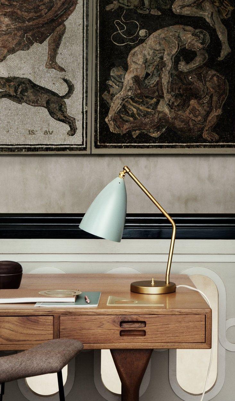Grashoppa Desk Lamp By Gubi 10012230 Desk Lamp Table Lamp Lamp
