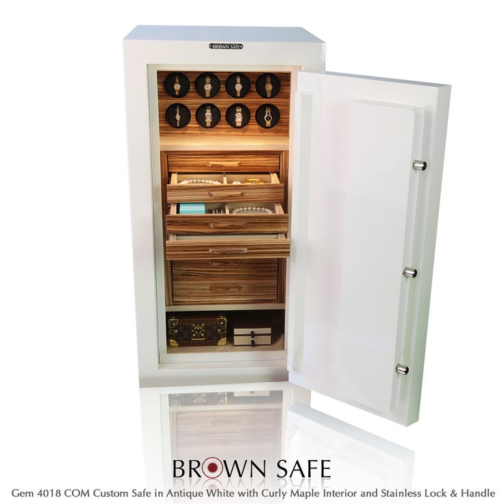 Jewelry Storage   Buy A Gem Series Custom Safe From BrownSafe.com