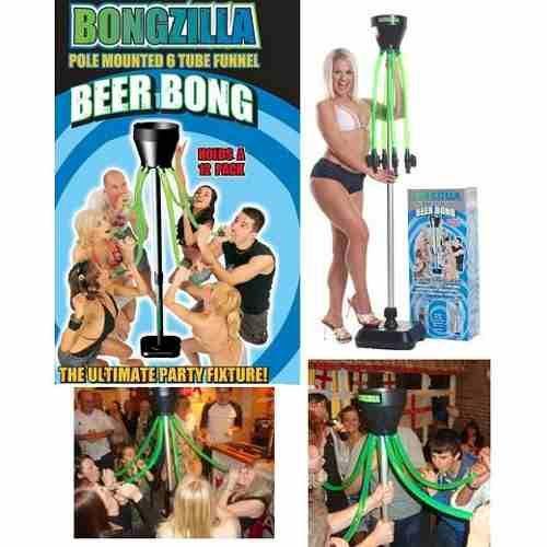 Pulpo Dispensador Cerveza Bebidas Bongzilla Beer Bong - $ 1,289.00