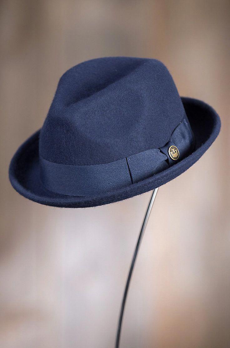 b2f9c577 Goorin Bros. Good Boy Wool Felt Fedora Hat in 2019 | Hats for gentlemen |  Hats, Fedora hat, Dress hats