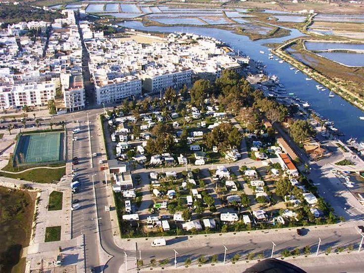 Fuseta mit Campingplatz und Hafen