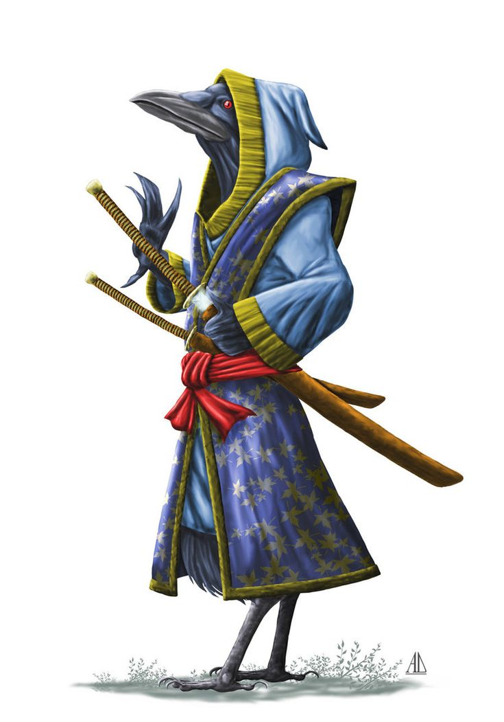 Created for Digital-Art-Fantasy Group's 'Magical Character' Contest. Didn't win, but I did receive an Honorable Mention, which is still great for me. The tengu are a race of supernatural creatures ...